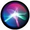 het Siri-symbool