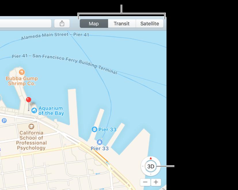 Karte Anzeigen.Anpassen Der Kartendarstellung In Der App Karten Auf Dem
