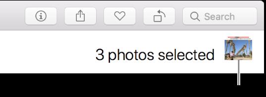 مؤشر تحديد تظهر به ثلاث صور محددة.
