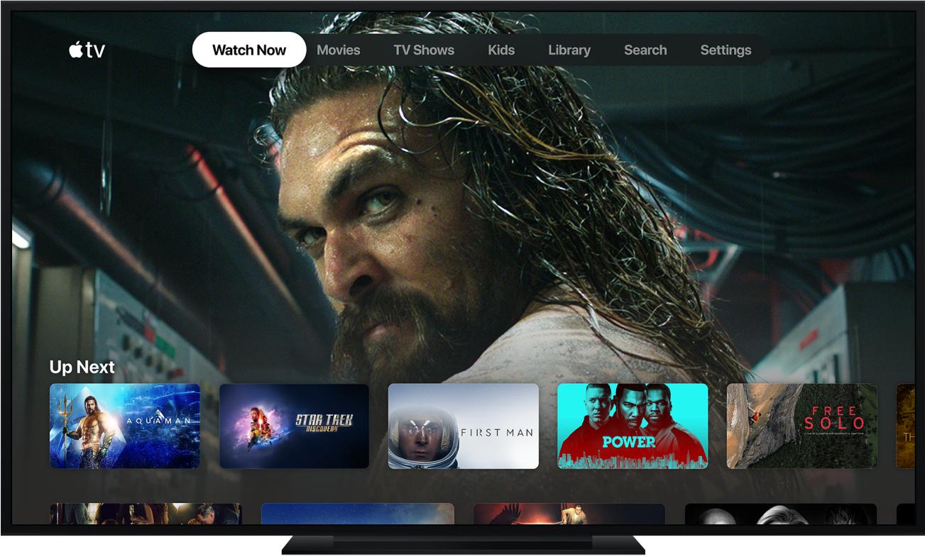 Uma Apple TV
