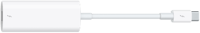 Thunderbolt3 (USB-C) to Thunderbolt2 Adapter.