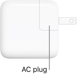 30W USB-C Power Adapter.