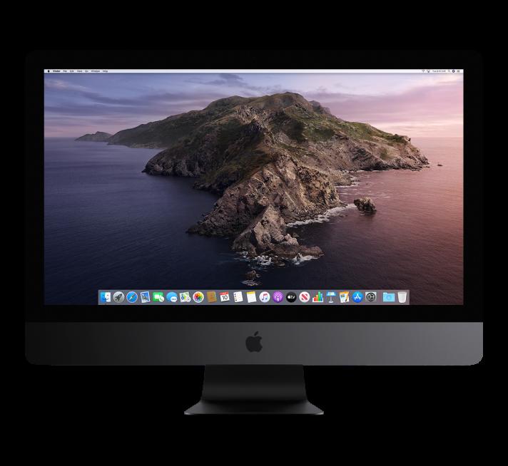 iMac Pro display.
