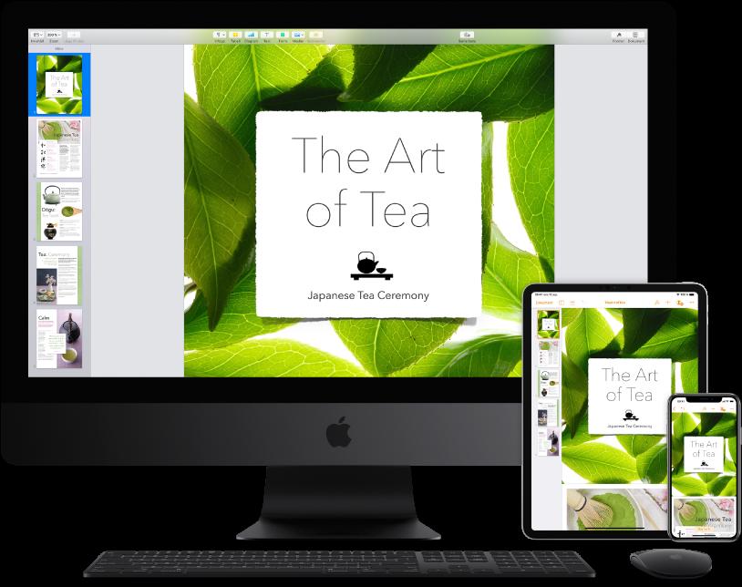 Tillgång till iCloud-innehåll från flera olika enheter