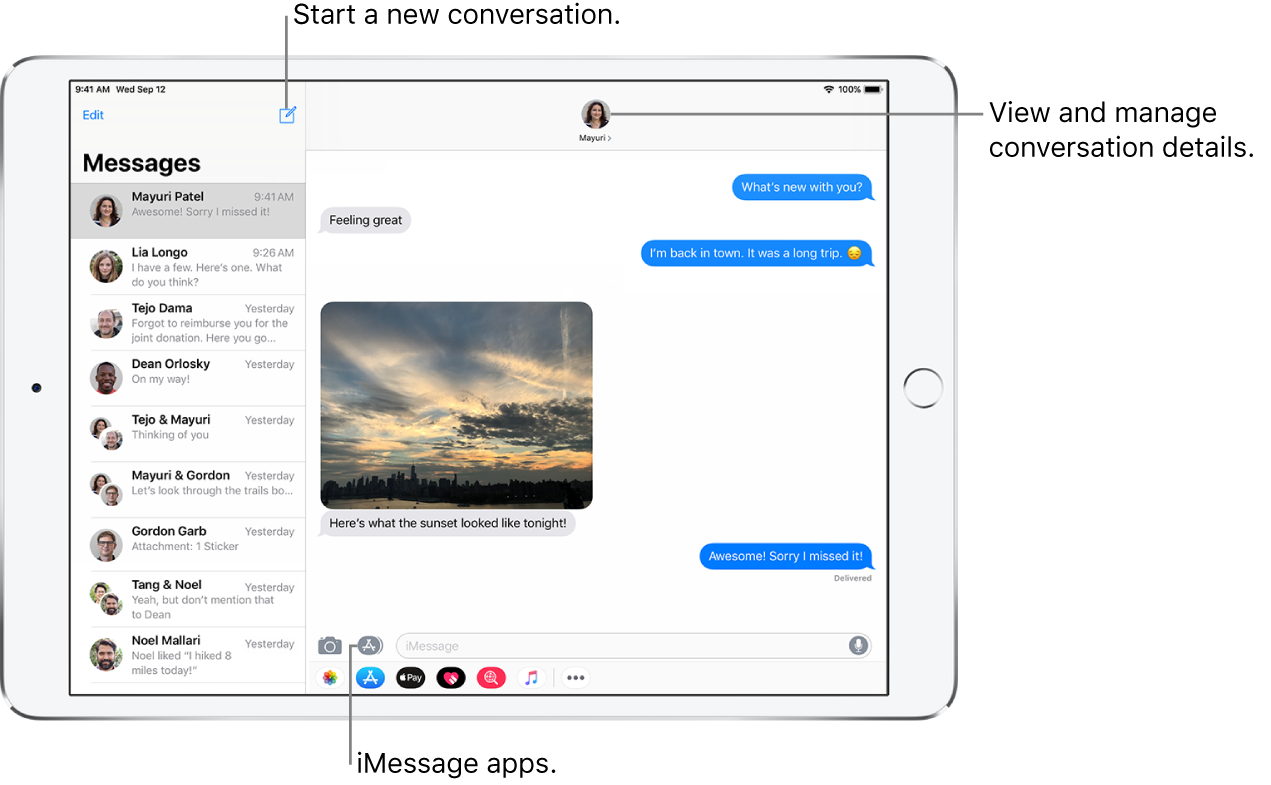 Send and receive text messages on iPad - Apple Support
