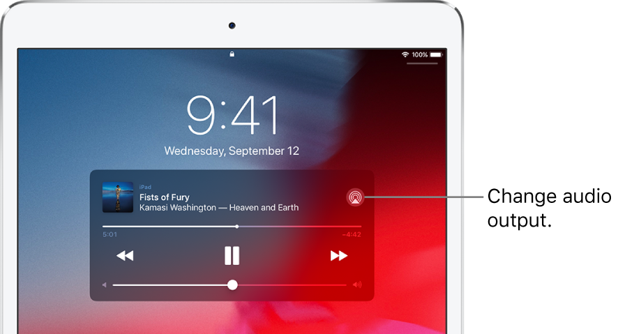 Stream audio and video to other devices from iPad - Apple