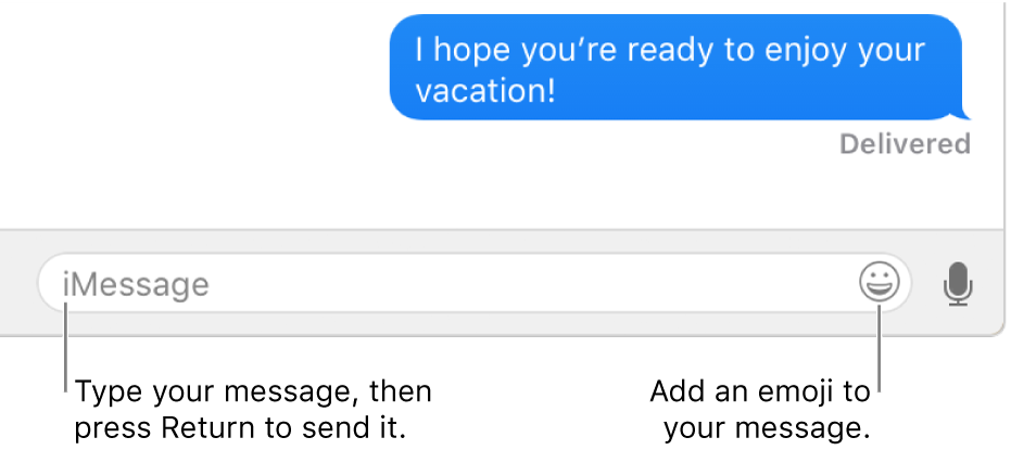 Send texts using Messages on Mac - Apple Support