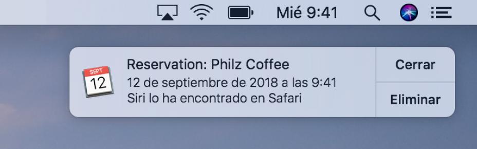 Calendario Atrapalo.Personalizar Las Notificaciones De Los Sitios Web En Safari En El