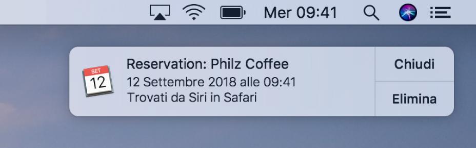 Calendario Per Sito Web.Personalizzare Le Notifiche Dei Siti Web In Safari Sul Mac