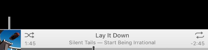 Za pregled većeg omota albuma u zasebnom prozoru kliknite minijaturu omota.