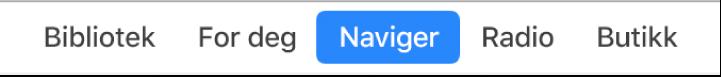 Naviger-knappen i navigeringslinjen.