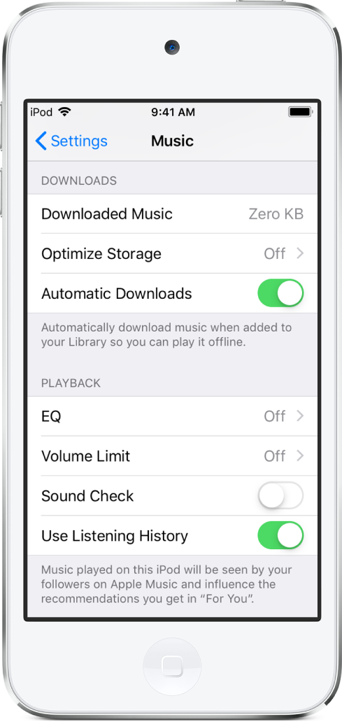Travel with iPod touch - Apple Support