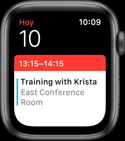 Actualizar Calendario.Consultar Y Actualizar El Calendario En El Apple Watch
