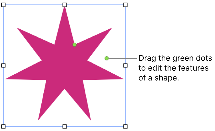 Add and edit a shape in Pages on Mac - Apple Support