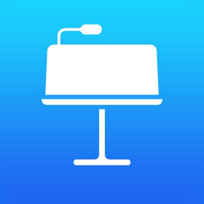 Icono de la app Keynote para iCloud.