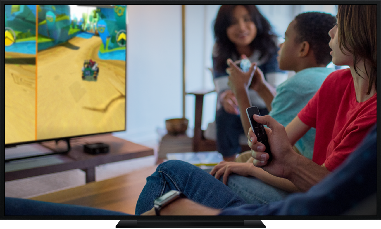An Apple TV