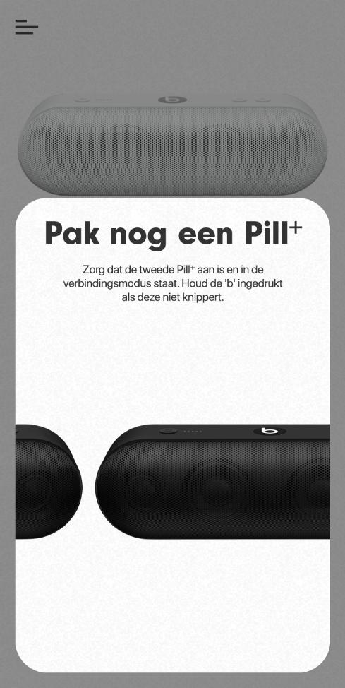 Het scherm 'Pak nog een Pill+'