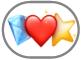 Emoji-matricák gomb