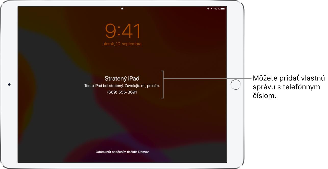 môžete pripojiť iPad k projektoru