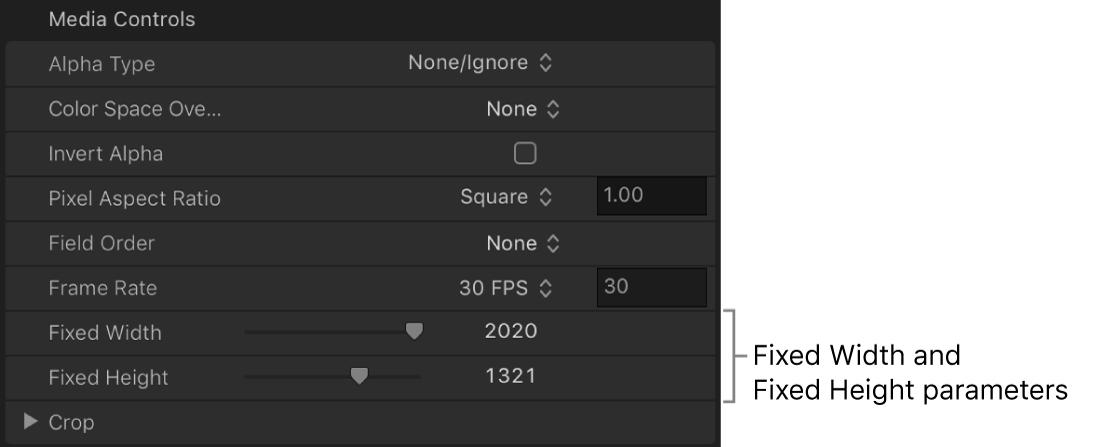 Inspector multimedia con la resolución de imagen inalterada
