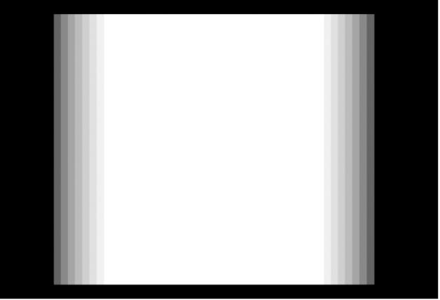 Canevas affichant un effet Flou d'animation avec ses réglages par défaut