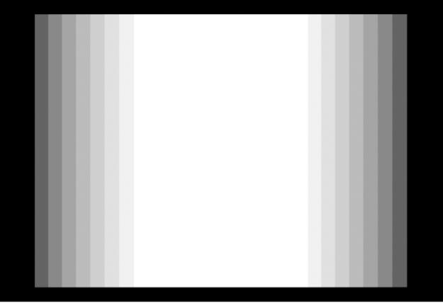 Canevas affichant un effet Flou d'animation avec la valeur du réglage Angle d'obturateur augmentée