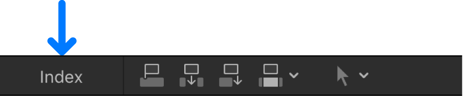 The Index button