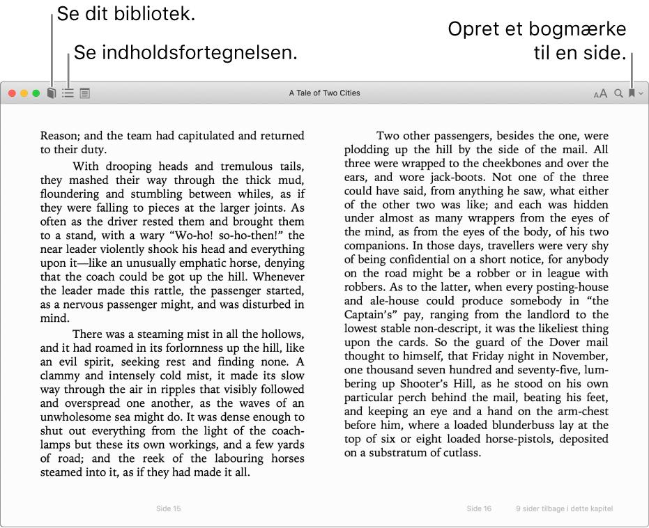 Muligheder i en åben bog.
