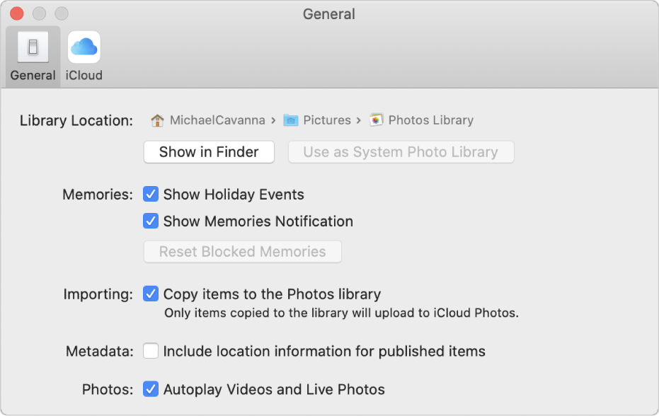Modificare Le Preferenze In Foto Sul Mac Supporto Apple