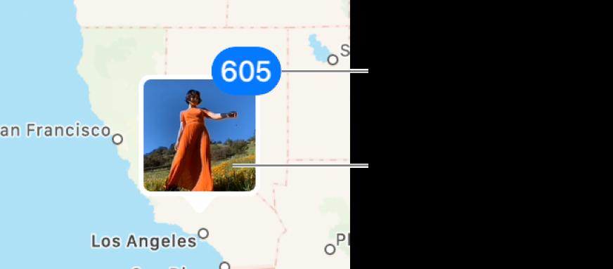 지도에 있는 사진의 축소판.