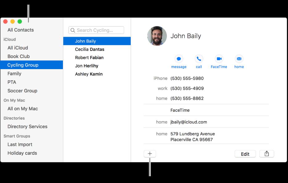 Erstellen Von Gruppen Von Kontakten In Der App Kontakte