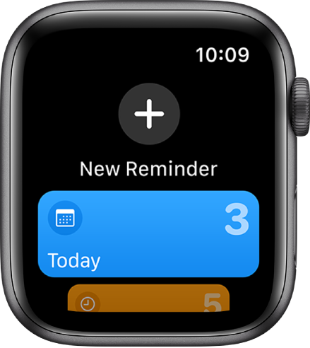 The Reminders app.