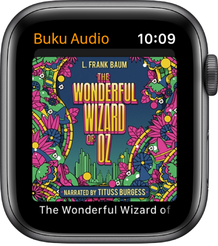Karya seni kulit buku untuk buku audio.