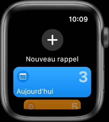 L'app Rappels.