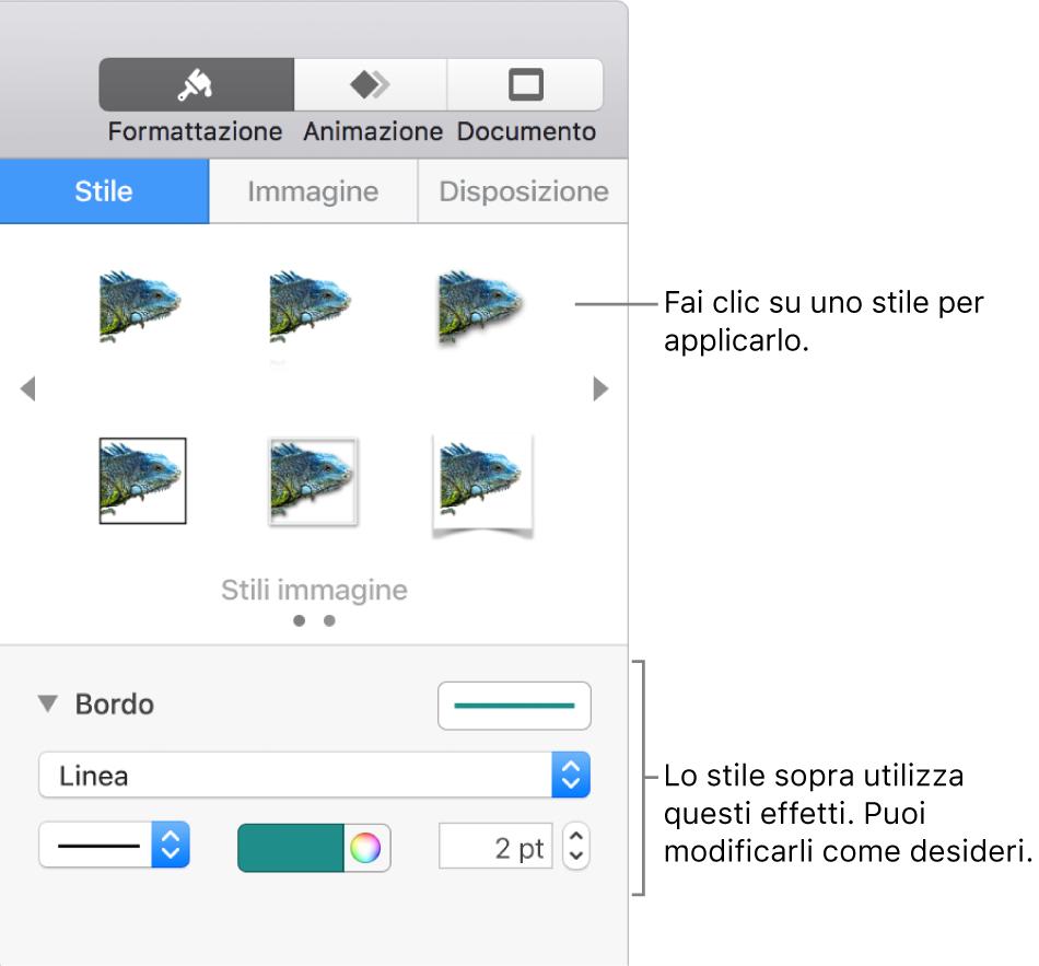 Segnaposto Con Nome Da Stampare introduzione a keynote sul mac - supporto apple