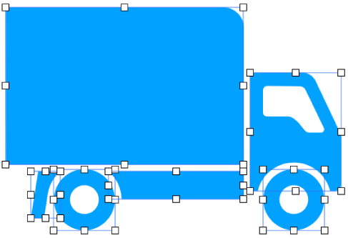 Составная фигура, разделенная на части.
