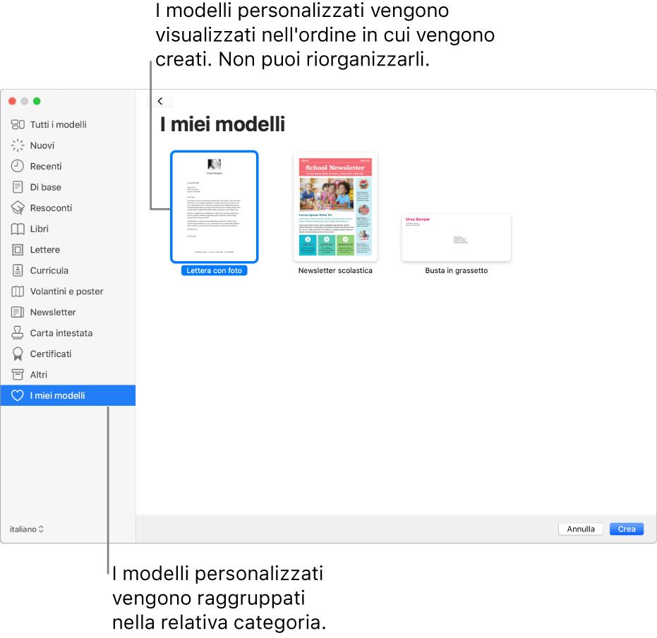 Segnaposto Con Nome Da Stampare creare un modello personalizzato in pages sul mac - supporto
