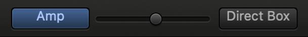 Regulador de mescla del Bass Amp Designer