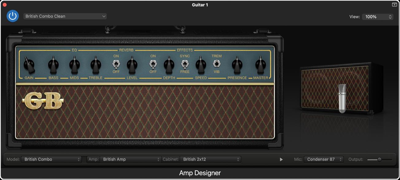 Amp Designer plug-in.