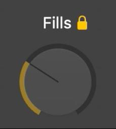 Fills-knop.