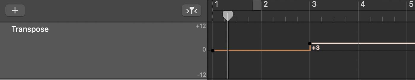 แทร็คการย้ายระดับเสียงที่เปิดในพื้นที่แทร็ค