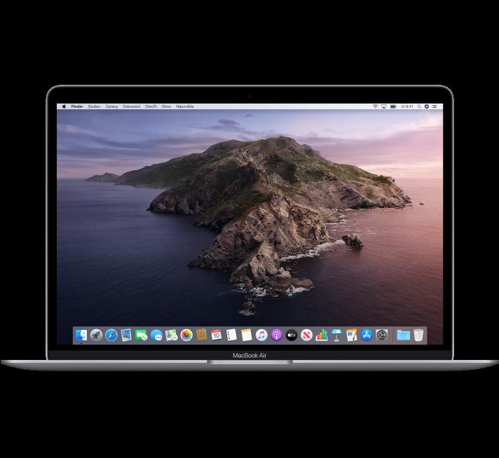 Pohled na MacBookAir zepředu