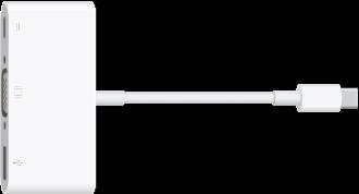 Der USB-C-VGA-Multiport-Adapter