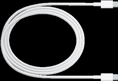 Le câble de charge USB-C.