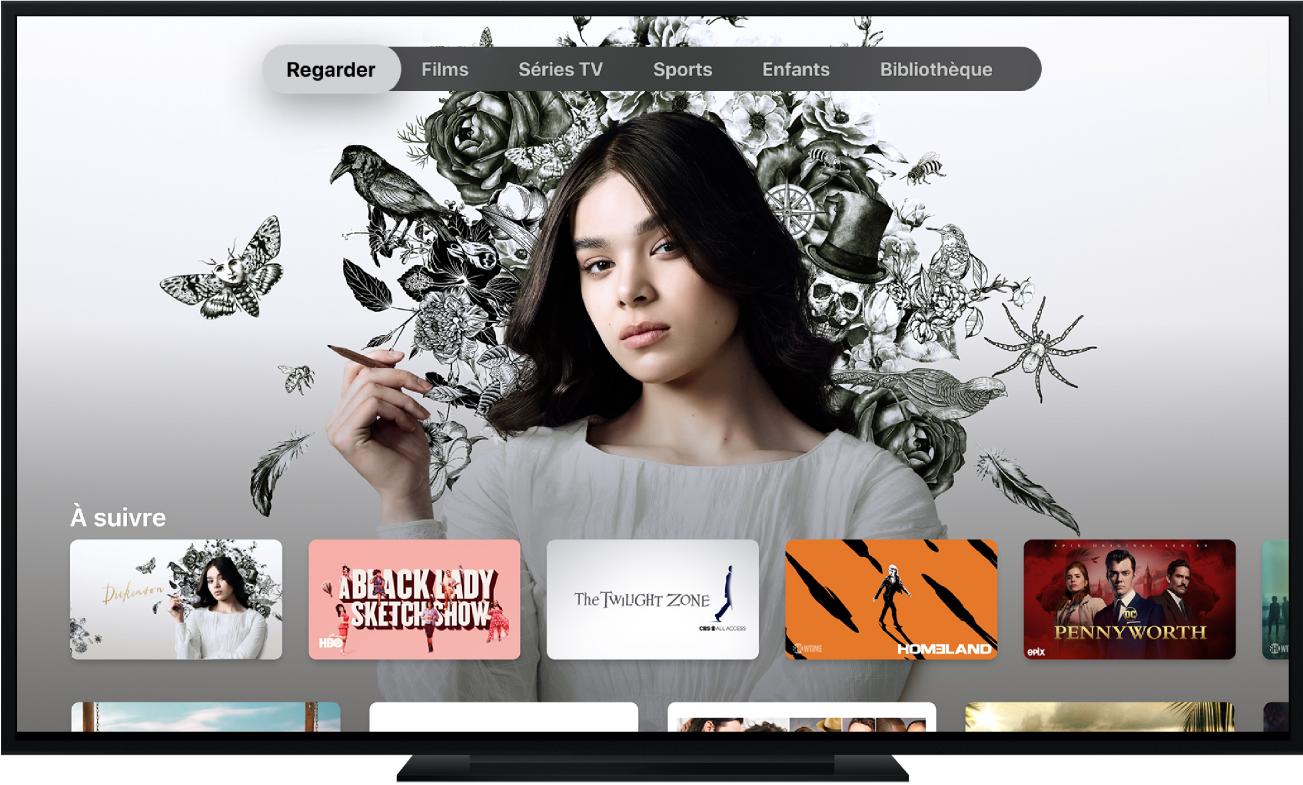 Une AppleTV