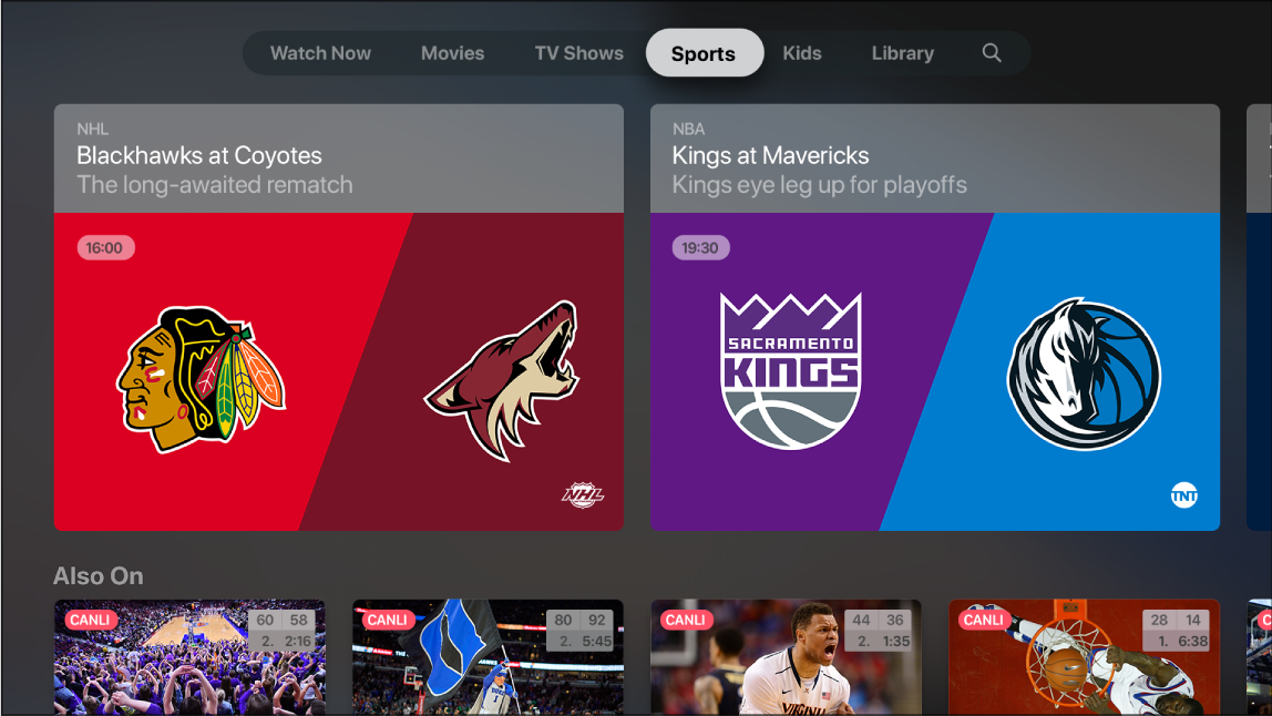 Spor gösteren ekran