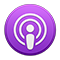 Podcasts-symbool