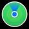 Значок приложения «Локатор»