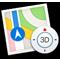 Значок программы «Карты»