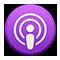 Ikona aplikácie Podcasts